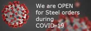 OPEN and delivering steel to you during COVID-19