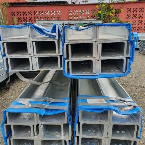 Hot Dip Galvanised, Channel